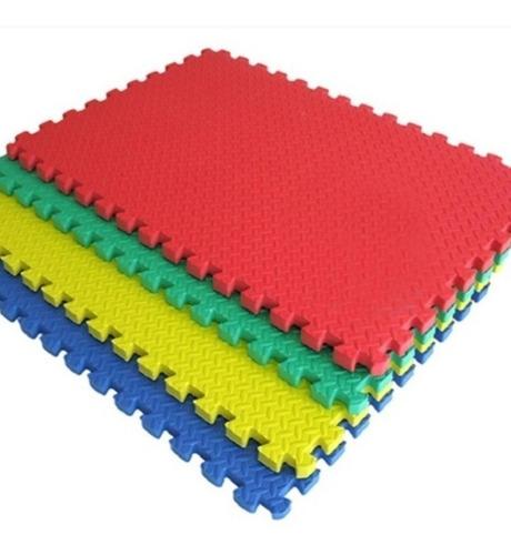 Tapete Unicolor En Fomi 60x60  Cm X 1  Cm De Grueso