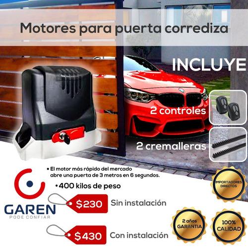 Imagen 1 de 7 de Motores Para Puertas Automaticas Garage Motor Puerta Garaje