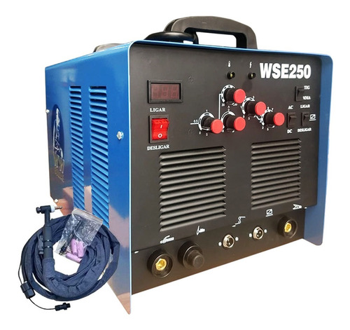 Maquina Tig A/ F Wse250 Ac/dc 220v Ww Soldas