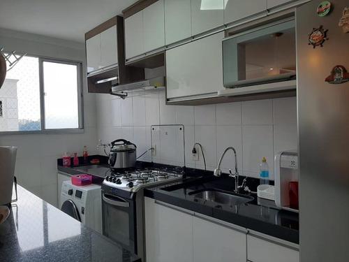 Apartamento Com 2 Dormitórios À Venda, 50 M² Por R$ 295.000,00 - Utinga - Santo André/sp - Ap64397