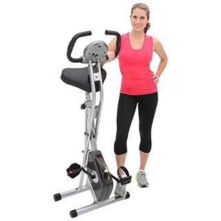 Bicicleta Vertical Magnética Plegable Exerpeutic Con Pulso
