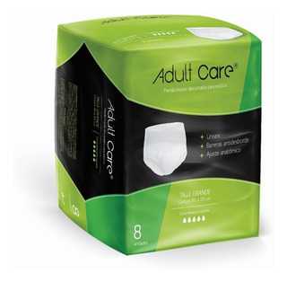Slip Pants Adult Care Ropa Interior Descartable De Adultos G