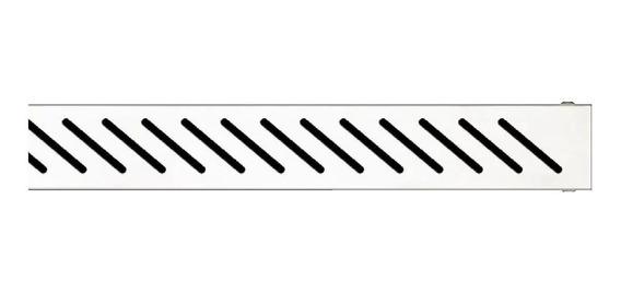 Rejilla Desague Acero Ducha Lineal Fluenza Diagonal D700t05