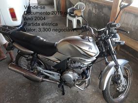 Yamaha 125cc 2004 Único Dono E Conservada