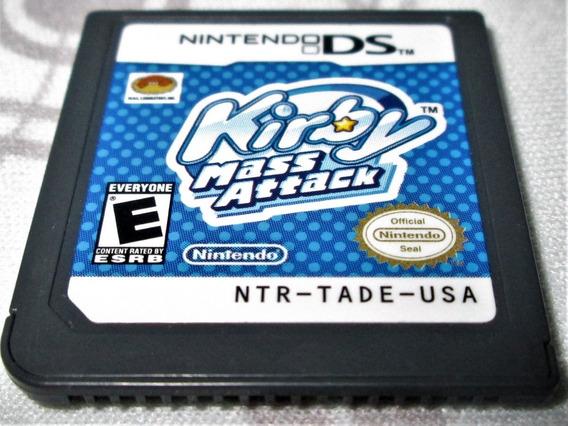 Kirby Mass Attack! Genuíno Nintendo!! P/ Ds, 2ds Ou 3ds!