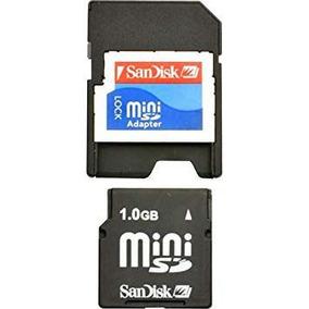 Minisd Card 1gb Sandisk Com Adaptador