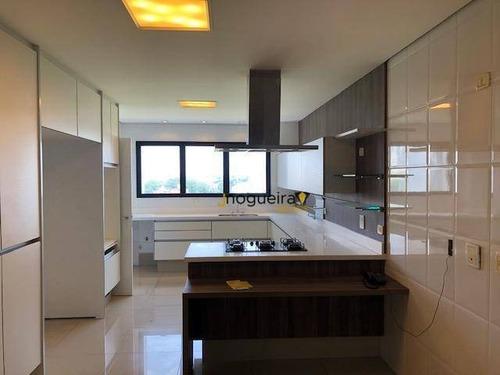 Imagem 1 de 24 de Apartamento, 370 M² - Venda Por R$ 3.400.000,00 Ou Aluguel Por R$ 18.000,00/mês - Santo Amaro - São Paulo/sp - Ap15558