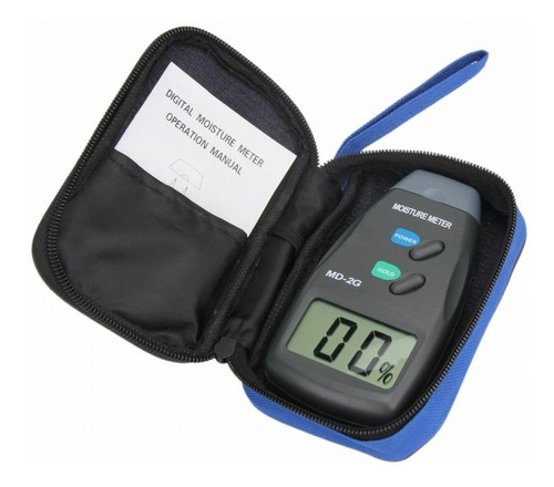 Medidor De Humedad Para Varios Materiales - Electroimporta
