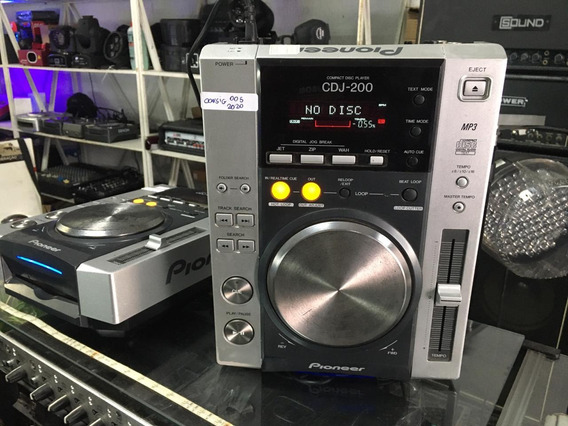 Cdj Pioneer 200 Promoção