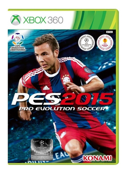 Pes 15 - Pro Evolution Soccer 2015 - Xbox 360 - Original