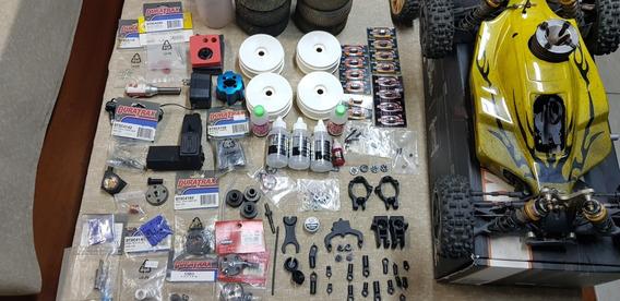 Automodelo Team Durango Dnx408 Com Várias Peça De Reposição
