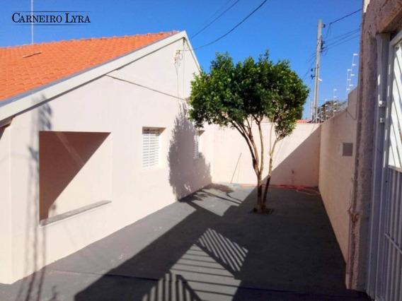 Casa Com 2 Dormitórios Para Alugar, 150 M² Por R$ 990/mês - Chácara Bela Vista - Jaú/sp - Ca0626
