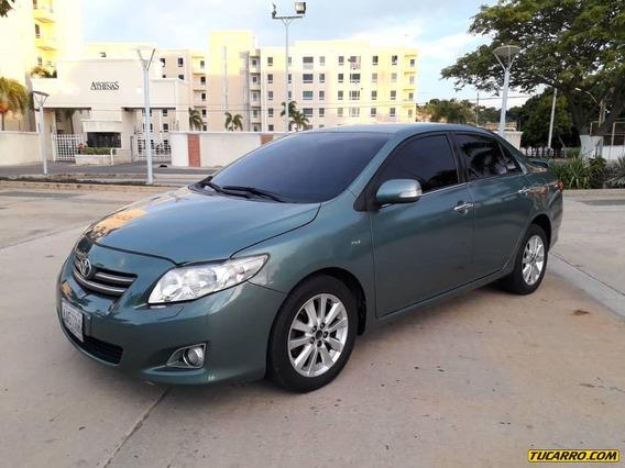 Toyota Corolla .