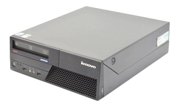 Computador Lenovo Core 2 Duo 4gb Ssd Wifi + Monitor 19,5