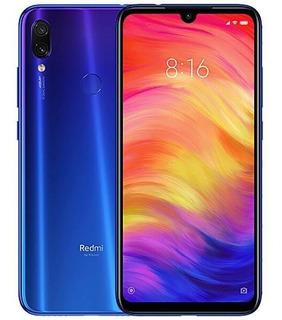 Celular Xiaomi Redmi Note 7 64gb Modelo Global Azul