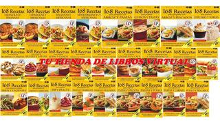 168 Recetas Mariano Orzola, Coleccion De 26 Libros