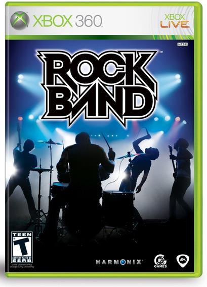 Jogo Rock Band Rockband Xbox 360 Original Frete R$12