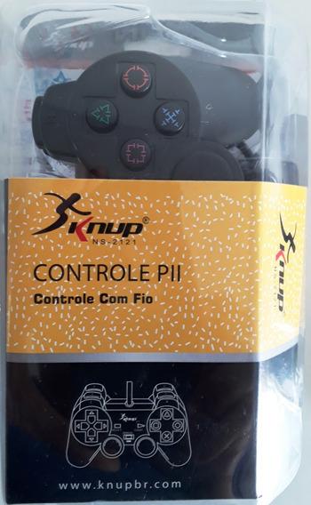 Kit 20 Controles Playstation2 Com Cabo De 1,5m Atacado Lojas