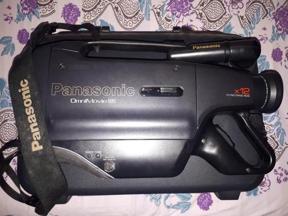Câmera Filmadora Panasonic Omnimovie Vhs Pv-800