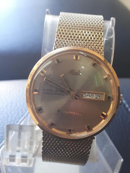 Reloj Mido Commander, Estelaris Dateday, Automatico
