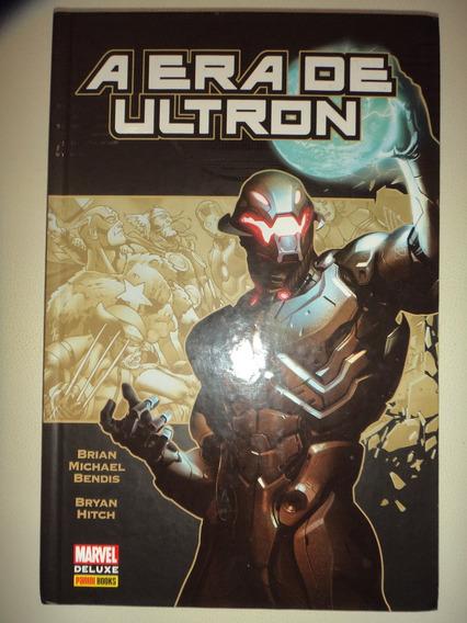 A Era De Ultron Marvel De Luxe Panini Books Capa Dura Excele