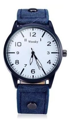 Weesky Relógio Masculino Quartz Lindo Frete Grátis
