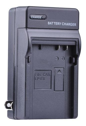 Cargador Canon Lp E8 Eos 550d 600d 650