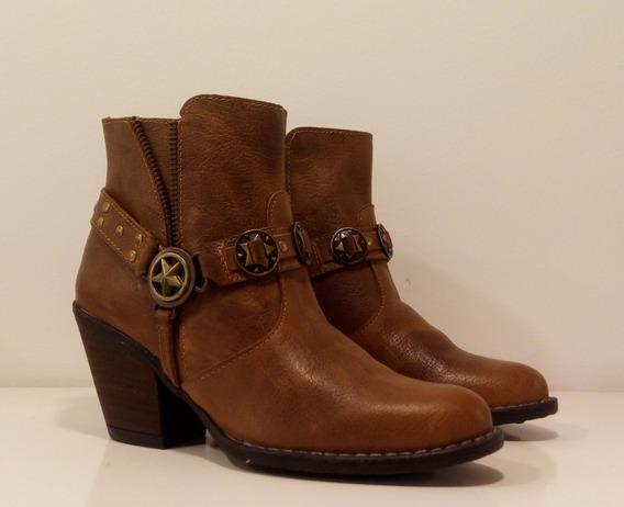 Botas Mujer Texanas Cuero Riot Art 150 Zona Zapatos