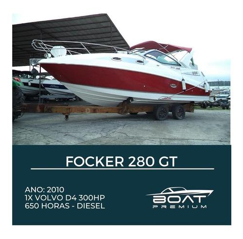 Imagem 1 de 14 de Focker 280gt, 2010, 1x Volvo D4 300hp - Magnum - Focker