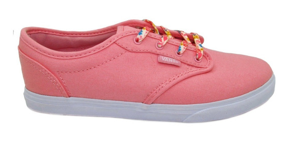 Tenis Vans Atwood Low Vn000301iow Canvas Pink Cnady Rosa