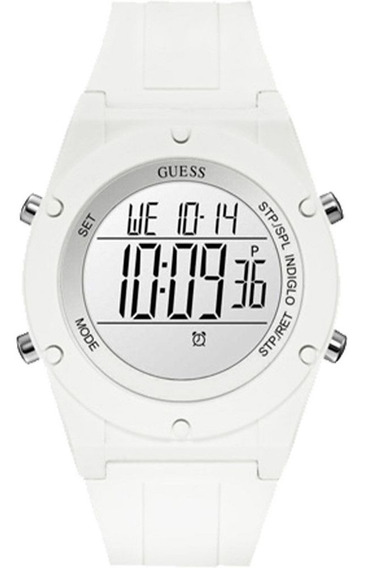 Relogio Digital Branco Guess 92761l0gtnp1