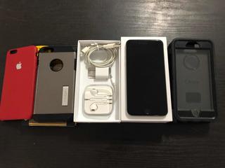 Celular iPhone 6 Plus 64gb + Cargador + Audífonos Apple