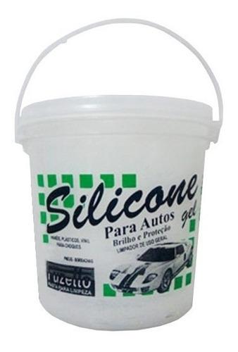 Imagem 1 de 1 de Silicone Gel Uni Gel Box Chemicals Universal Balde De 3,6 Kg