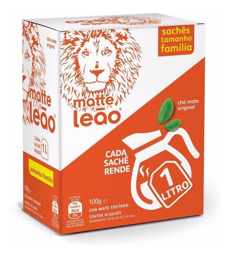 Chá Leão  Maxi Tea Bag - Mate Original 10 Saches