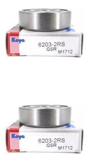 Rolinera Rodamiento Koyo Alternador 6203 Bomba Tensor Japon