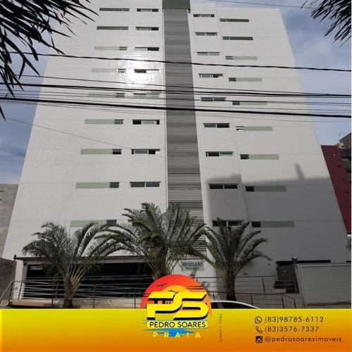 (oportunidade) Apartamento Em Manaira Com Suíte - Ap4031