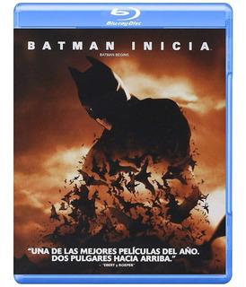 Batman Inicia Christopher Nolan Pelicula Bluray