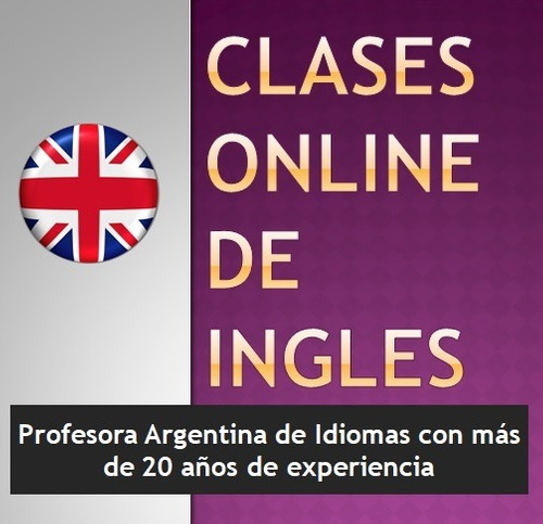 Imagen 1 de 1 de Profesora De Inglés - Clases Online - 1ra Clase Gratis