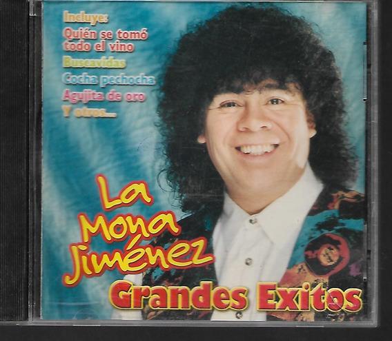 Carlos La Mona Jimenez Grandes Exitos Sello Universal 2000
