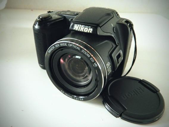 Câmera Semi-profissional Nikon Coolpix L810 16.1 Mp