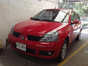 Renault Clio 2009 5p Expresion 5vel A/a Ee Cd Abs