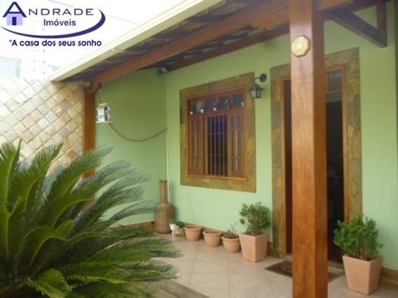 Casa Geminada Com 3 Quartos Para Comprar No Castelo Em Belo Horizonte/mg - And824