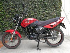 Motocicleta Carabela Gs3 Modelo 2010 + Refacciones Orig.