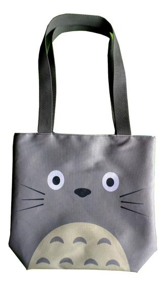 Mini Tote Bag Cartera De Anime Mi Vecino Totoro Ghibli