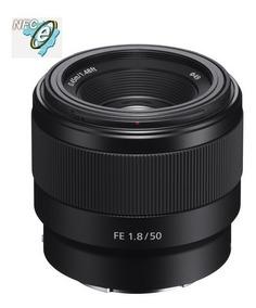 Lente Sony Fe 50mm F/1.8 E-mount Sel50f18f Nova !