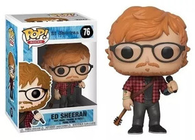 Funko Pop Rocks Ed Sheeran #76 Original + Nfe Frete Barato