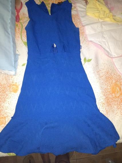Vestido Azul Tamanho M
