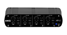 Amplificador De Fones Akg Hp4e   Powerplay   4 Canais   Nfe