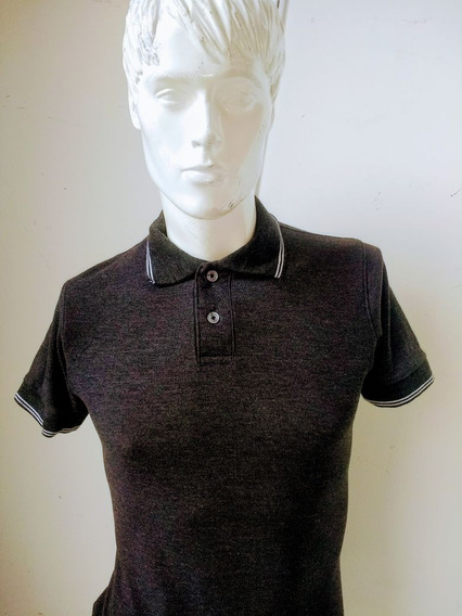 Playera Polo Negro