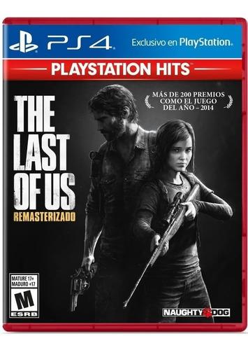 The Last Of Us Ps4 Juego Fisico Sellado Original Nuevo